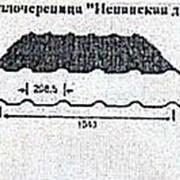 Металлочерепица Испанская дюна, Полиуретан с 1-й стороны, 1147(1040)x0.4мм фото