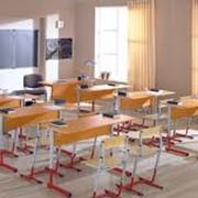 Ученическая мебель. фото
