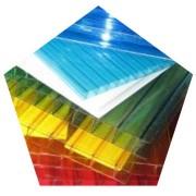 Сотовый поликарбонат 16мм цветной фото