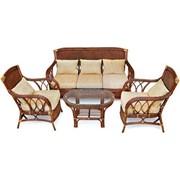 Комплект мебели натуральный ротанг Andrea фото