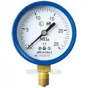 Манометр для кислорода ДМ 05063 - 25 МПа - 2,5 - О2 - 01 ТУ У 33.2-14307481-031:2005 фото
