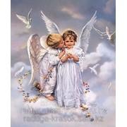 Картина по номерам Ангелочки фото