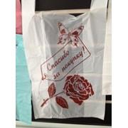 Пакеты-майка серийная Роза 280х500 фото