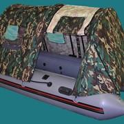 Тент-палатка на лодку фото