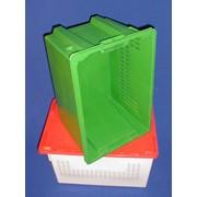 Ящик полимерный многооборотный для мясных и молочных изделий №3 фото