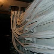 Огнезащитная обработка кабелей фото