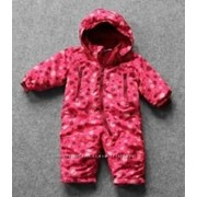 Комбинезон детский демисезонный LUPILU (розовые сердечки) фото
