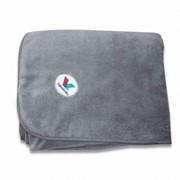 Пледы флисовые с вашим логотипом. фото