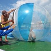 Водный шар гидрозорб цветной фото