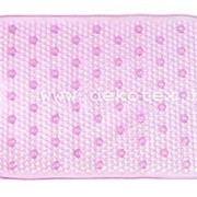 Spa-коврик для ванной Aqua-Prime 40*80см Bubble & Hole роз фото