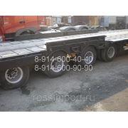 Полуприцеп тралл CIMC 70 тонн