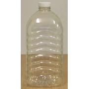 Тара ПЭТ: Бутылки 1л с крышкой в комплекте фото