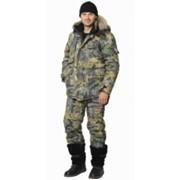 Костюм Беркут-Тайга (куртка длинная, полукомбинезон) КМФ Дубок фото
