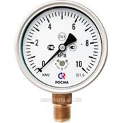 Манометры для измерения низких давлений газов КМ (с мембранной коробкой) фото