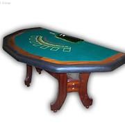 Карточные столы для казино, Оборудование для казино, Мебель для развлекательных залов фото