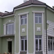 Устройство штукатурного фасада с утеплением фото