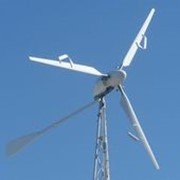 Ветрогенератор СВ-6,7/1000 4 кВт/48В + контроллер заряда фото