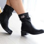 Женские кожаные зимние ботинки. ДС-41-1018 (3005) фото
