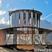 Электростанция солнечно-ветряная 2 кВт, ветротурбины для домов, коттеджей, предприятий как альтернатива, Киев Украина фото