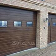 Ворота гаражные секционные Doorhan фото