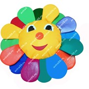 Подушка напольная для детей Солнышко фото