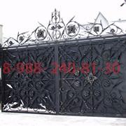 Кованные ворота, калитки. фото