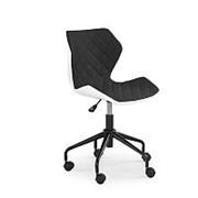 Кресло компьютерное Halmar MATRIX (бело-черный) фото