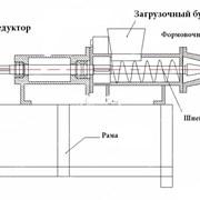 Пресс для угольной пыли УПБ-140 (брикеты)