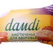 Печенье «DАMDI» ОВСЯНОЕ С ИЗЮМОМ. флоу-пак 50г. фото