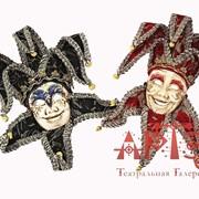 Карнавальная маска Джокера сувенирная фото