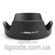 Бленда Nikon HB-45 (2) 18-55mm для D3100 D3200 D5100 (аналог) 2143 фото