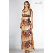 Платье 3404-2 Желтый цвет фото