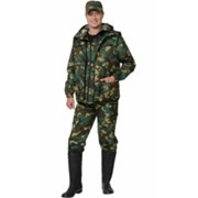 Костюм Охотник (куртка, брюки, жилет) КМФ Лес фото