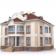 Проектирование домов, коттеджей. Готовые проекты коттеджей в Алматы фото