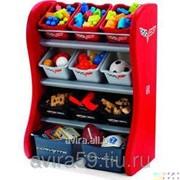Детский стеллаж для хранения игрушек фото