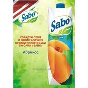 Сок Sabo абрикос фото