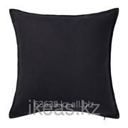 Чехол на подушку, черный ГУРЛИ фото