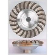 Алмазный шлифовальный круг выпуклый Convex 100мм фото