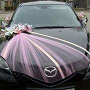 Оформление свадебного авто фото