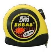 Рулетка 3/0,016м (магнитная с нейлоновым покрытием) SKRAB 40152 фото