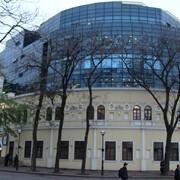 """Панорамные лифты, монтаж наладка, обслуживание. Одесса, ТЦ """"Афина"""". фото"""