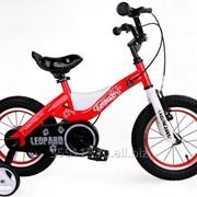 Детский велосипед Royal Baby Leopard Steel 18 фото
