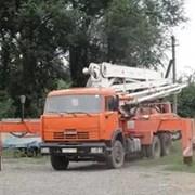 Услуги и аренда автобетононасоса в Новосибирске фото