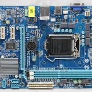 Материнская плата LGA-1155 Gigabyte GA-H61M-S1 Intel H61 2 Intel HD Graphics Micro-ATX oem фото