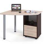 Письменный угловой стол для ноутбука Пристон фото