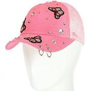 Бейсболка 32018-1 розовый фото