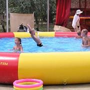 Надувной бассейн фото