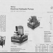 Гидростанция WAE-1 с максимальным давлением 700 bar, напряжение питания 220 В, производительность насоса 1,2 л/мин при давлении 700 bar, бак 12 л фото