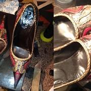 Обувь: Исправление формы и реставрация обуви. фотография