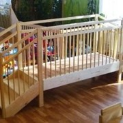 Мостик игровой деревянный для детских садиков и домов ребенка фото